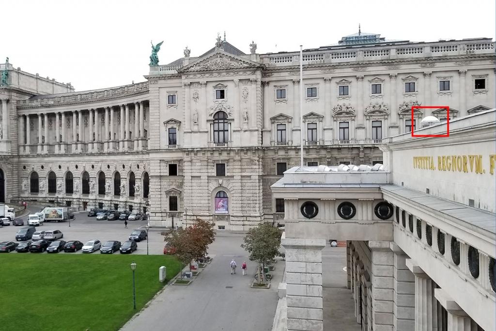 AARTOS installation Wiener Hof
